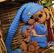 Куклы и игрушки handmade. Livemaster - original item Puppy Tosa toy. Handmade.