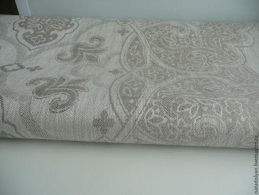 """Шитье ручной работы. Ярмарка Мастеров - ручная работа. Купить Скатертной лен №5 """"В природном цвете"""" ширина 190см. Handmade."""