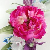 Цветы и флористика handmade. Livemaster - original item Silk flowers. The song