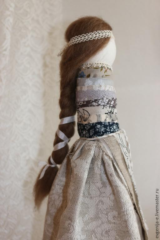 """Народные куклы ручной работы. Ярмарка Мастеров - ручная работа. Купить """"На удачное замужество"""" Кукла-оберег. Handmade. Серый"""