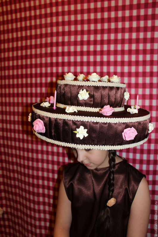 Детские карнавальные костюмы ручной работы. Ярмарка Мастеров - ручная работа. Купить шоколадный торт. Handmade. Коричневый, Новый Год