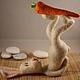 Игрушки животные, ручной работы. Ярмарка Мастеров - ручная работа. Купить Саламба Сарвангасана(заяцЙОГ). Handmade. Разноцветный, валяная игрушка