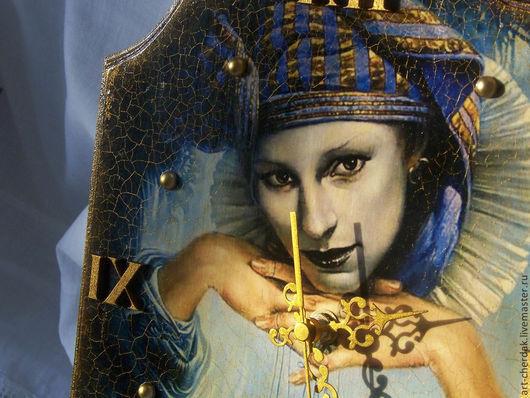 """Часы для дома ручной работы. Ярмарка Мастеров - ручная работа. Купить Часы настенные """"Тайны Венеции """". Handmade. венеция"""