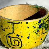 """Посуда ручной работы. Ярмарка Мастеров - ручная работа Пиалы чайные """"Шелест в ветвях"""". Handmade."""
