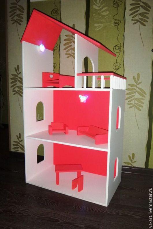 Кукольный дом ручной работы. Ярмарка Мастеров - ручная работа. Купить Кукольный дом. Handmade. Комбинированный, дом, полка настенная