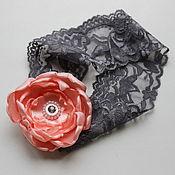 Свадебный салон ручной работы. Ярмарка Мастеров - ручная работа Свадебные подвязки невесты ручной работы. Handmade.