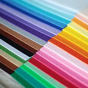 Материалы для творчества ручной работы. Ярмарка Мастеров - ручная работа Корейский фетр 36 цветов 30х22 набор. Handmade.