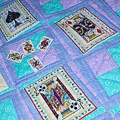Свадебный салон handmade. Livemaster - original item CASINO patchwork bedspread, patchwork quilt, wedding gift. Handmade.