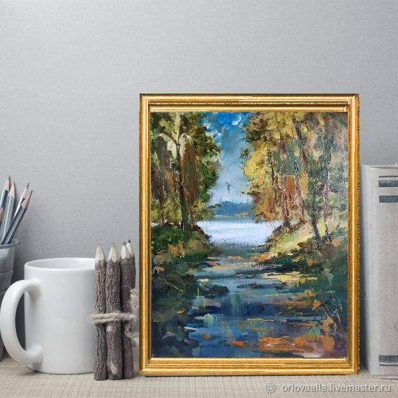 Oil Painting After A Thunderstorm, Pictures, Samara,  Фото №1
