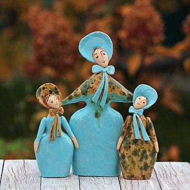 Для дома и интерьера ручной работы. Ярмарка Мастеров - ручная работа Скульптуры: Отпрыски. Handmade.