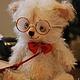 Мишки Тедди ручной работы. Ученый мартовский кот Кузя. Irene Gromi (Teddy Art Boutique). Ярмарка Мастеров. Котики