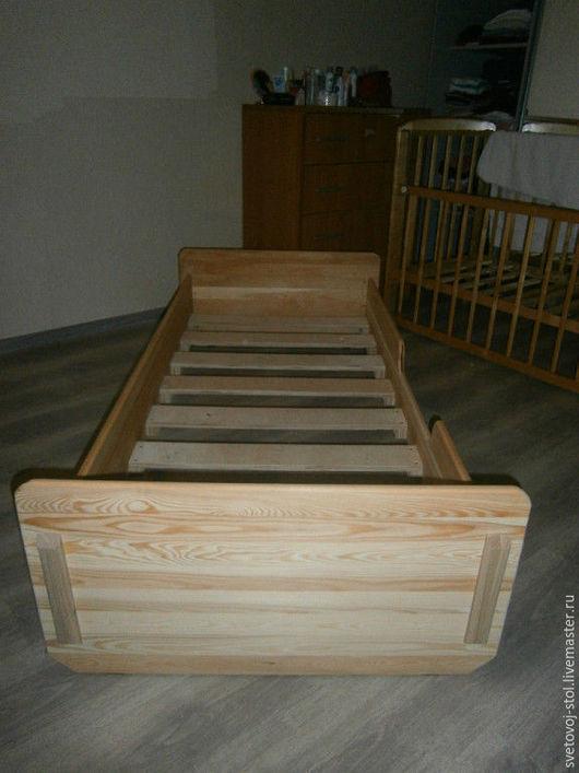 Детская ручной работы. Ярмарка Мастеров - ручная работа. Купить Детская кроватка. Handmade. Бежевый, детская, дети