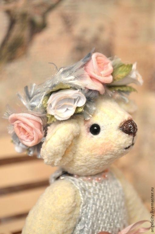Мишки Тедди ручной работы. Ярмарка Мастеров - ручная работа. Купить Мишка Тедди Бьянка. Handmade. Тедди, медведь