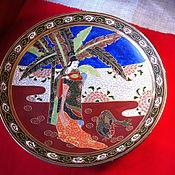 Vintage plates handmade. Livemaster - original item Plate decorative porcelain (China). Handmade.