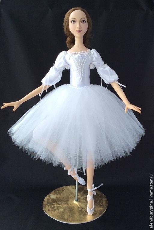 Коллекционные куклы ручной работы. Ярмарка Мастеров - ручная работа. Купить Балерина. Авторская кукла. Нашла свой дом). Handmade. Белый