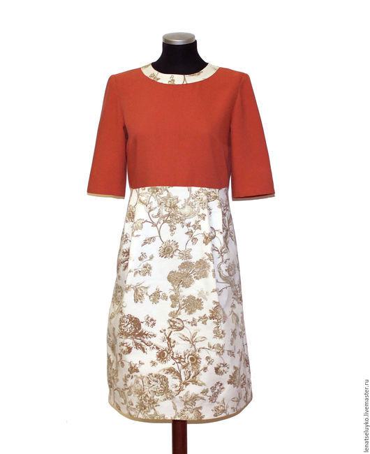 """Платья ручной работы. Ярмарка Мастеров - ручная работа. Купить Платье """" Очарование"""". Handmade. Комбинированный, платье на заказ"""