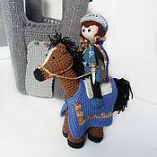 Куклы и игрушки ручной работы. Ярмарка Мастеров - ручная работа Сказка, про единорога, отважного принца и других. Handmade.