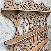 Для дома и интерьера handmade. Livemaster - original item Big shelf icons. Handmade.