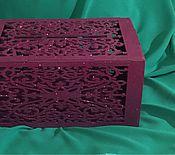 Свадебный салон ручной работы. Ярмарка Мастеров - ручная работа Сундучок резной. Handmade.