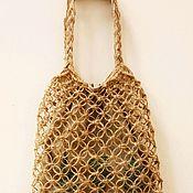Сумки и аксессуары handmade. Livemaster - original item Bag-string bag made of jute