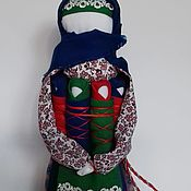 Народная кукла ручной работы. Ярмарка Мастеров - ручная работа Куклы Семья и Желанница. Handmade.