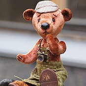 Куклы и игрушки ручной работы. Ярмарка Мастеров - ручная работа Миха (Медведь Тедди). Handmade.