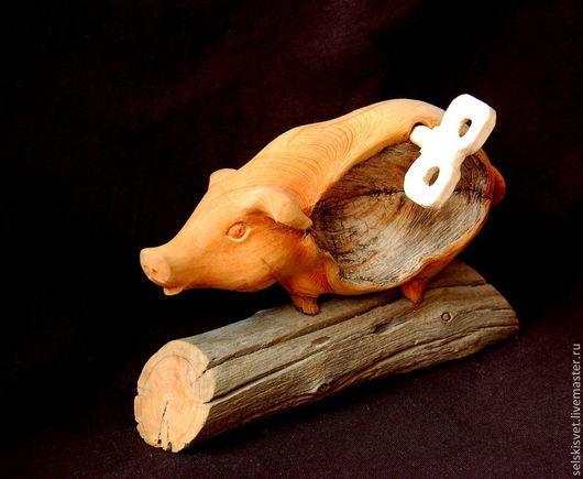"""Статуэтки ручной работы. Ярмарка Мастеров - ручная работа. Купить """"Заводная штучка"""" (композиция из дерева). Handmade. Статуэтка, природные материалы"""