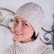 Аксессуары handmade. Livemaster - original item Hat knitted women