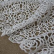 Материалы для творчества handmade. Livemaster - original item Lace, roses.. Handmade.
