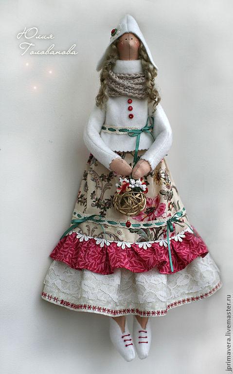 Кукла тильда, тильда кукла, ангел тильда, тильда ангел, подарок на день рождения, подарок на новый год, новый год 2017, ярмарка мастеров,  Юлия Голованова