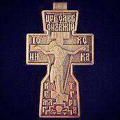 Украшения handmade. Livemaster - original item Carved Orthodox Cross. Handmade.