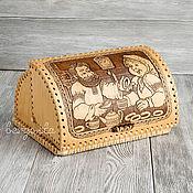 Русский стиль handmade. Livemaster - original item Bread basket made of birch bark