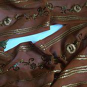 Материалы для творчества handmade. Livemaster - original item Piece of antique fabric No. №305. Handmade.