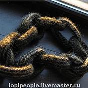 Аксессуары ручной работы. Ярмарка Мастеров - ручная работа шарф-цепь. Handmade.