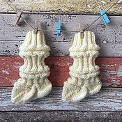Работы для детей, handmade. Livemaster - original item Children`s knitted socks Junasukat. Handmade.