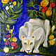 Lioness oil Painting, Pictures, Moscow,  Фото №1