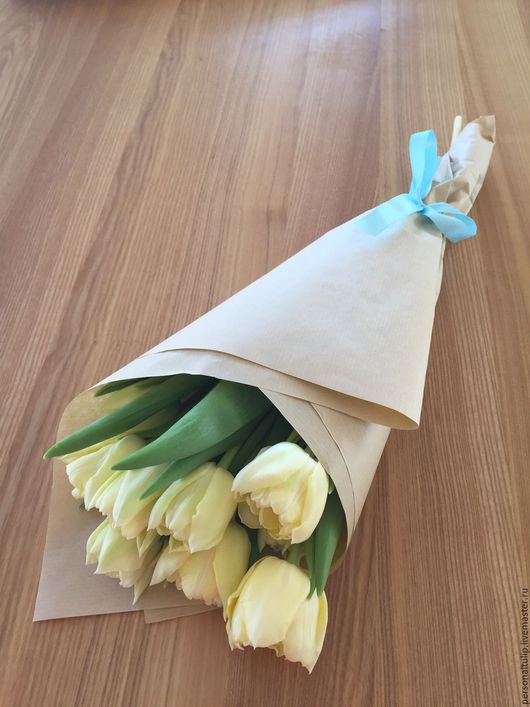 Персональные подарки ручной работы. Ярмарка Мастеров - ручная работа. Купить Букеты из собственных тюльпанов. Handmade. Букеты, 8 марта