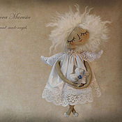 """Куклы и игрушки ручной работы. Ярмарка Мастеров - ручная работа """"Ангелочек-малышка"""" - авторская тканевая куколка. Handmade."""