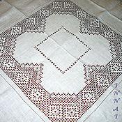 Для дома и интерьера handmade. Livemaster - original item Tablecloth 8 the Kuban. Strojeva embroidery. Handmade.