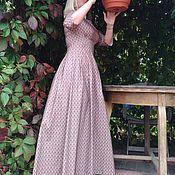 Одежда ручной работы. Ярмарка Мастеров - ручная работа Платье в пол Женственность. Handmade.