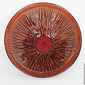 Посуда ручной работы. Ярмарка Мастеров - ручная работа Тарелка керамическая Коралловый лес - 2. Handmade.