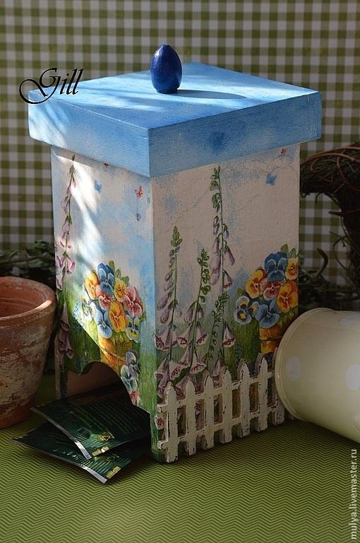 """Кухня ручной работы. Ярмарка Мастеров - ручная работа. Купить Чайный домик """"Любимый полисадник"""". Handmade. Чайный домик, домик"""