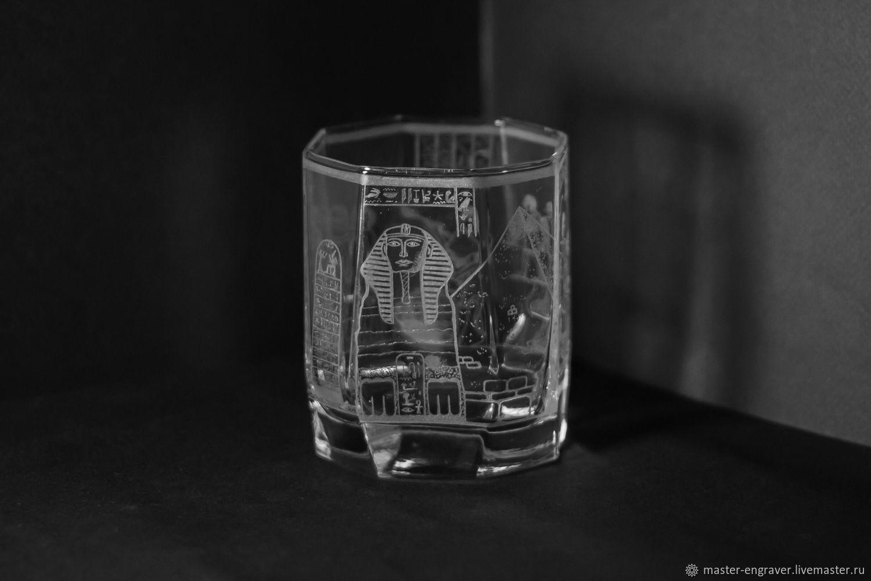 "Стакан ""Жизнь фараона"", Стаканы, Санкт-Петербург,  Фото №1"