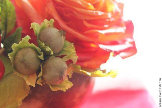 Интерьерные композиции ручной работы. Ярмарка Мастеров - ручная работа. Купить Рыжая осень. Handmade. Рыжий, мох, интерьерная композиция