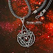 """Украшения ручной работы. Ярмарка Мастеров - ручная работа """"Celestial Astrolabe"""" Серебряный кулон. Handmade."""