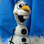 Мягкие игрушки ручной работы. Ярмарка Мастеров - ручная работа Снеговик Олаф. Handmade.