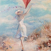 Картины и панно handmade. Livemaster - original item Oil painting Gone with the wind. Handmade.