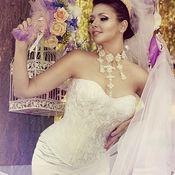 Одежда ручной работы. Ярмарка Мастеров - ручная работа Свадебный корсет «Белая лилия» утягивающий с белым кружевом. Handmade.