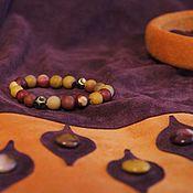 Одежда handmade. Livemaster - original item Skirt suede purple. Handmade.