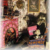 """Куклы и игрушки ручной работы. Ярмарка Мастеров - ручная работа Миниатюра """"Кот в сапогах"""". Handmade."""